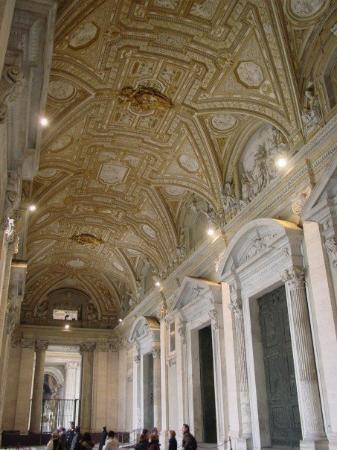 Roman Curia: Entrance