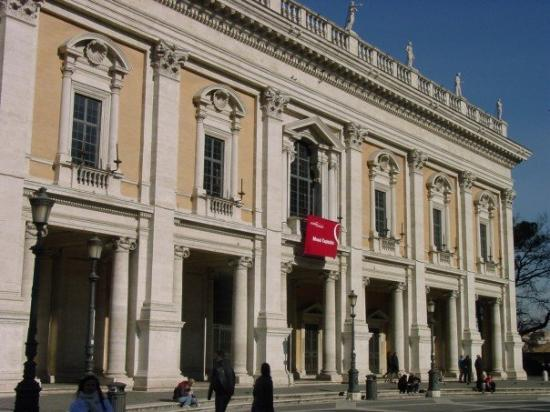 Piazza del Campidoglio: Today it's a museum