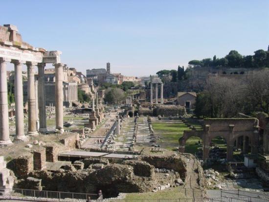 Palatine Hill: Forum Romanorum