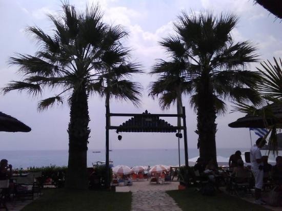 Parga Grekland Augusti 2009.