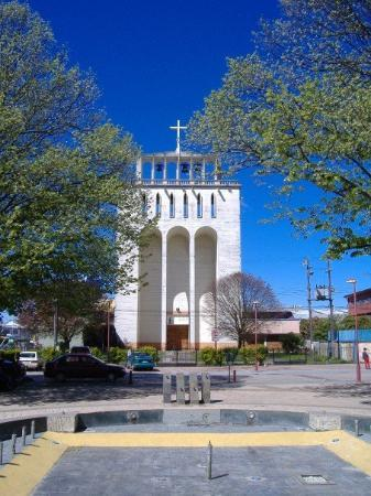 Осорно, Чили: Curch in Osorno, Chile