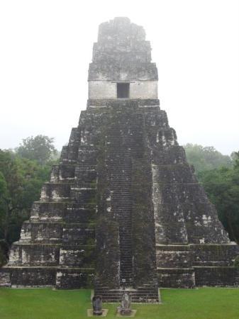 Tikal National Park, Guatemala: Tikal, templo del Jaguar