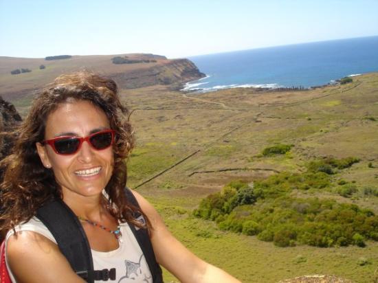 Hanga Roa, شيلي: ranu raraku