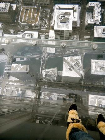 Bilde fra Skydeck Chicago - Willis Tower