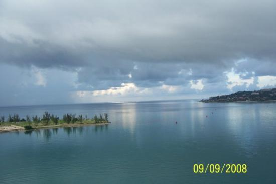 Montego Bay, Jamaica: View of Jamacia from the Ship