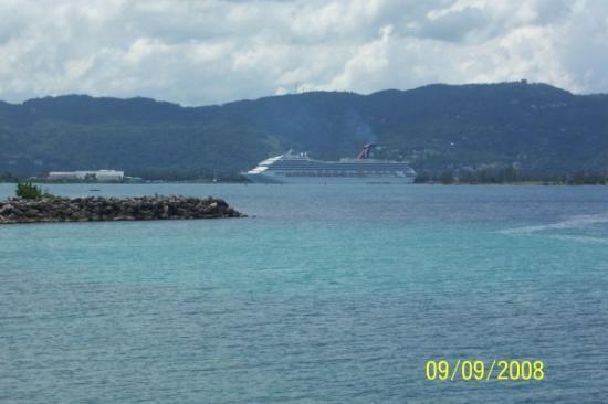 Montego Bay, Jamaica: View of Ship from Jamiacia