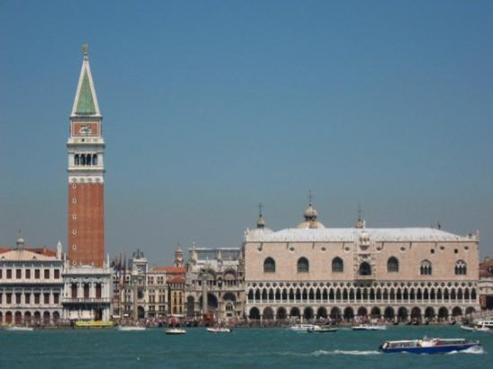 St. Mark's square from the water.