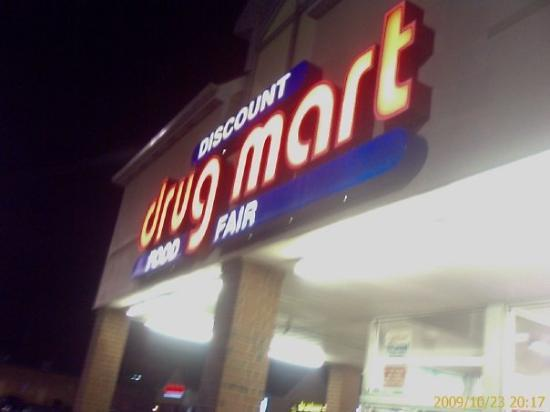 Columbus, OH: This place is like a miniature WalMart only they sell serious drug store stuff as well.  The loc