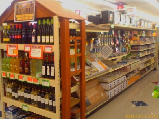 Columbus, OH: Wine and school supplies?  I could have used that...