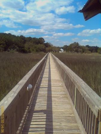 Pawleys Island, SC: It never fails.  I get to the end of the pier and I have to go to the bathroom...