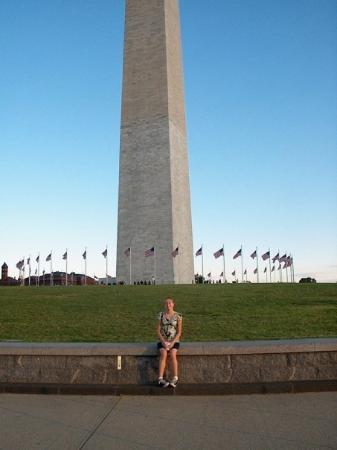 Washington Monument: Artazia and the Washington Memorial 08-08