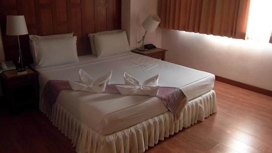 New Siam Riverside Guest House: Notre chambre