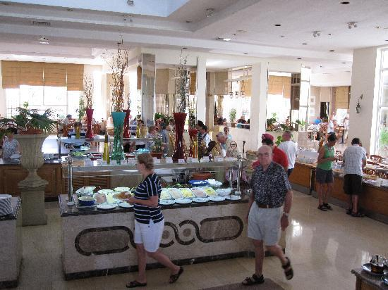 Maritim Jolie Ville Resort & Casino Sharm El-Sheikh: Breakfast Area