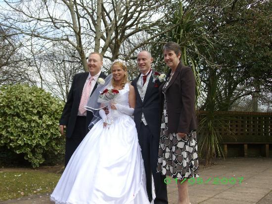 Invicta Hotel: myself , my wife and mum and stepdad