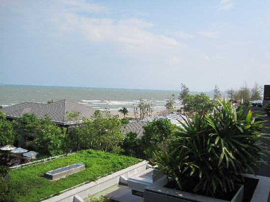 Rest Detail Hotel Hua Hin: View from jacuzzi on 4th flr rm 141