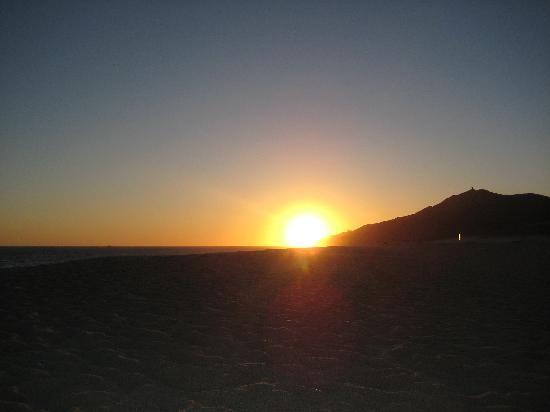 Pueblo Bonito Pacifica Golf & Spa Resort: sunset on the beach at Pueblo Bonito Pacifica