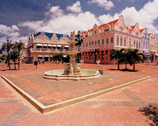 Paradera, Aruba: Town Square - Oranjestad