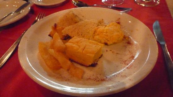 La Aldea de la Selva Lodge - Restaurant was very good. Corn in a variety of preparations. Tasty.