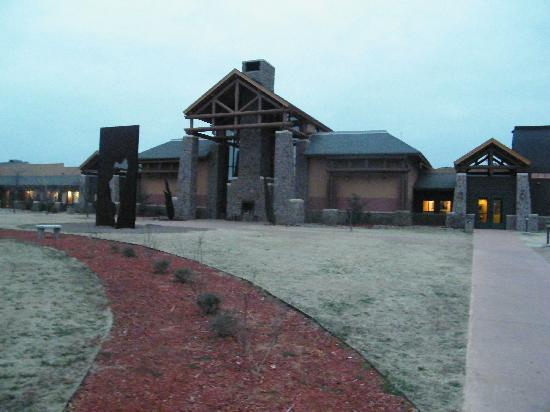 Quartz Mountain Resort Arts & Conference Center: the lodge