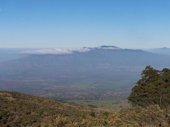 Lahaina, HI: From Haleakala