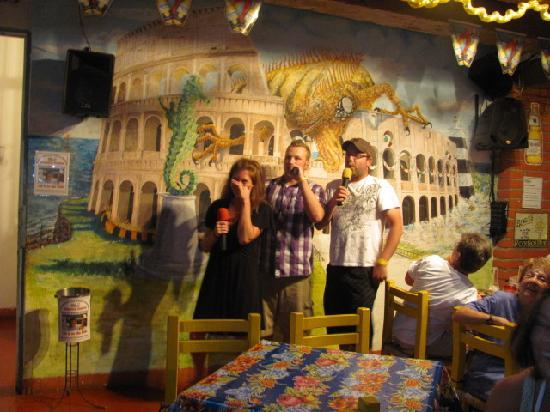 Cafe Roma: great trio!