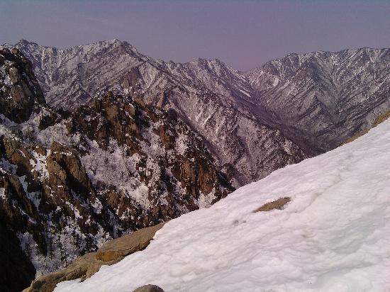 Seoraksan National Park: Bit higher up