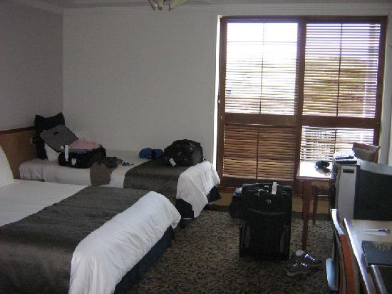 Skycity Darwin: Our room.