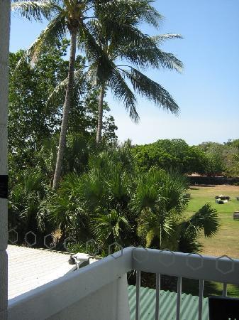 Skycity Darwin: View from are balcony.