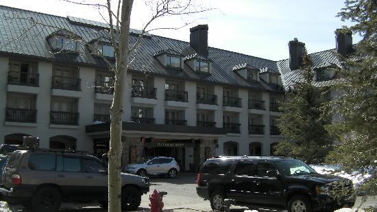 Hotel Talisa, Vail: Main entrance