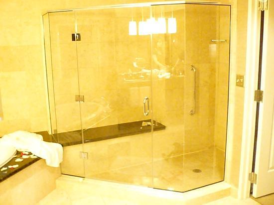 The Westin Charlotte: shower
