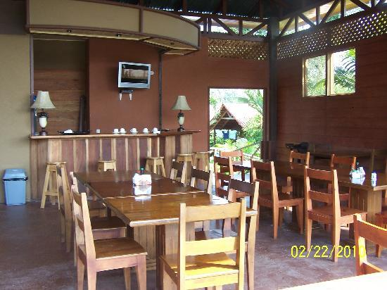 Arenal Green Hotel: Restaurant at Arenal Green...yummy!
