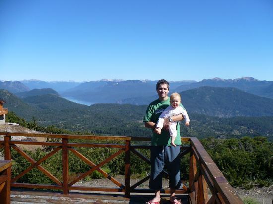Casa de Piedra Cabañas & Spa: Vista desde el valcon