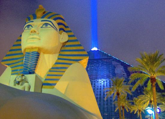 Luxor Hotel & Casino: Cant say thats not impressive
