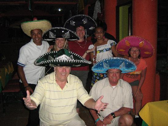 Hotel Celuisma Cabarete: A night at the Mexican Restaurant