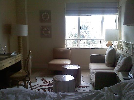 The Tides South Beach: Another view of the bedroom/sitting room