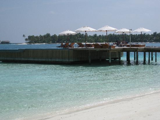 Conrad Maldives Rangali Island: hotel bar