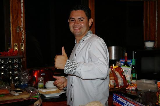 Tulemar Bungalows & Villas: Chef Chris