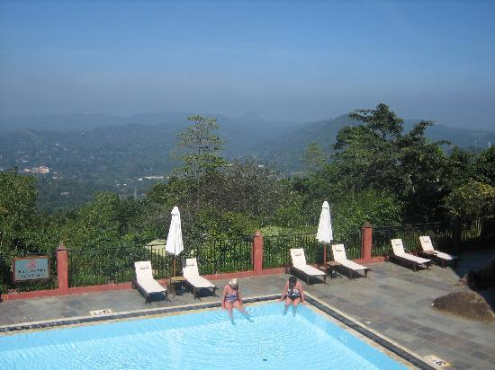Amaya Hills Kandy: view from the pool 2