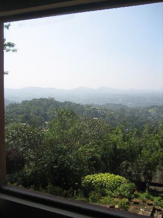Amaya Hills: window view from the junior suites 1