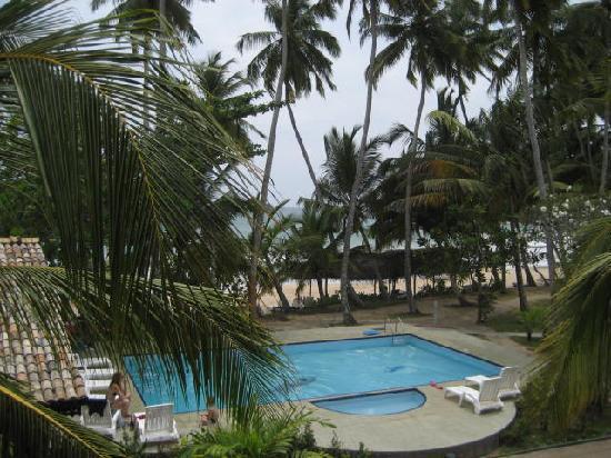 Paradise Beach Club: pool from balcony