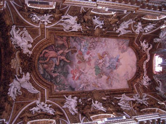 City Wonders: Beautiful Chapel ceiling painting