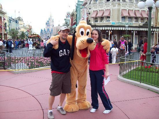 Magic Kingdom: Con Pluto