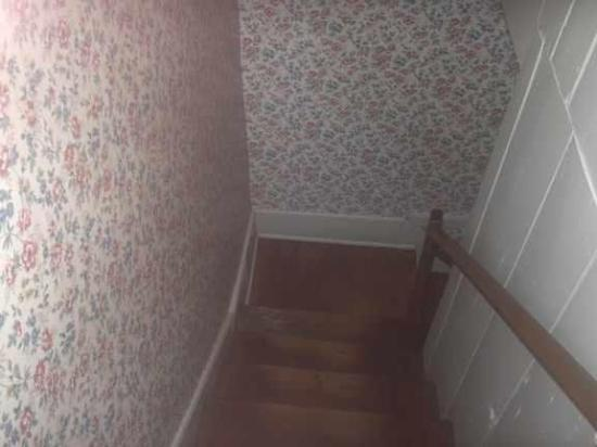 Going Downstairs to the Back Half of the Jennie Wade House. Yeah Exciting Huh :P
