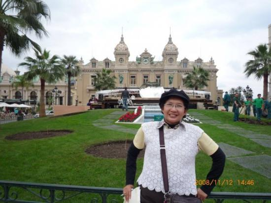 Casino of Monte-Carlo: famous and beautiful casino in Monte Carlo, Monaco, near France, Nov'08