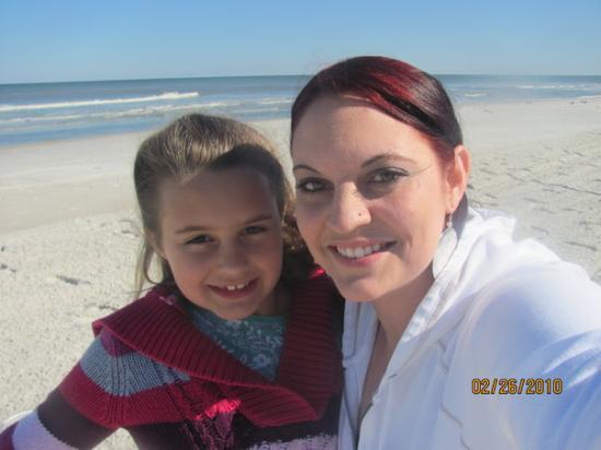 Jacksonville, FL: JAX beach...pretty but chilly.