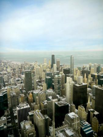 Bilde fra Skydeck Chicago - Willis Tower