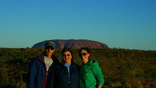 Uluru-Kata Tjuta National Park, Australia: Uluru May 2009 Dennis, Carol & Michelle