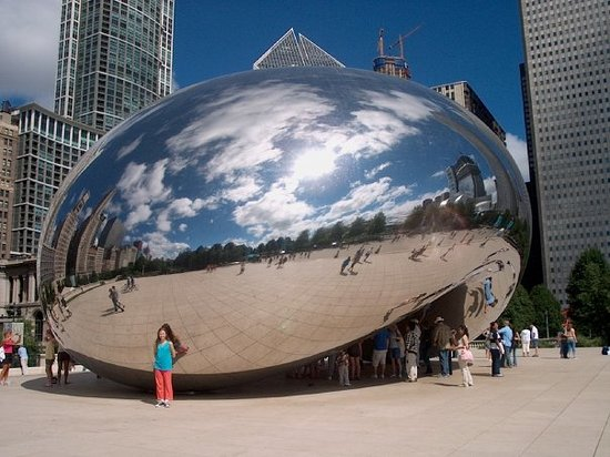 We love Cloud Gate! This frickin' egg was SO COOL!
