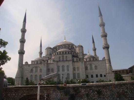 Bilde fra Den blå moské