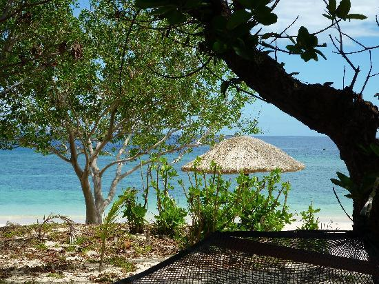 Navini Island Resort: view from our bure